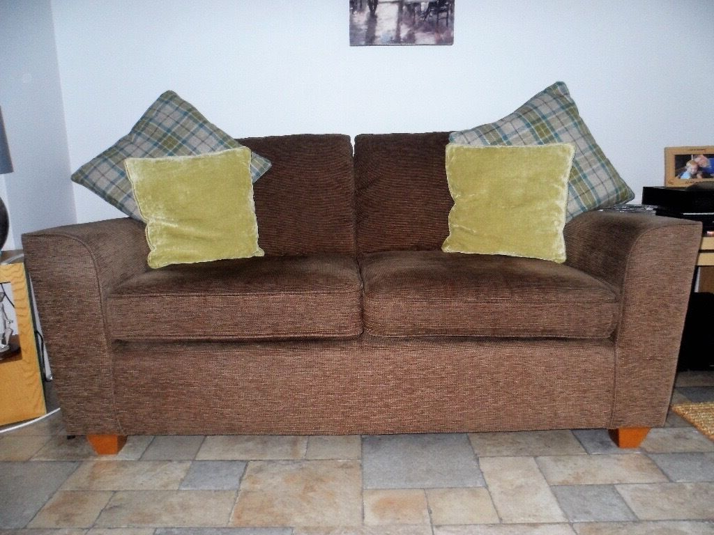 Current Next Montana Brown (Mocha) 2 Seater Sofa: Very Good Within Montana Sofas (View 13 of 15)