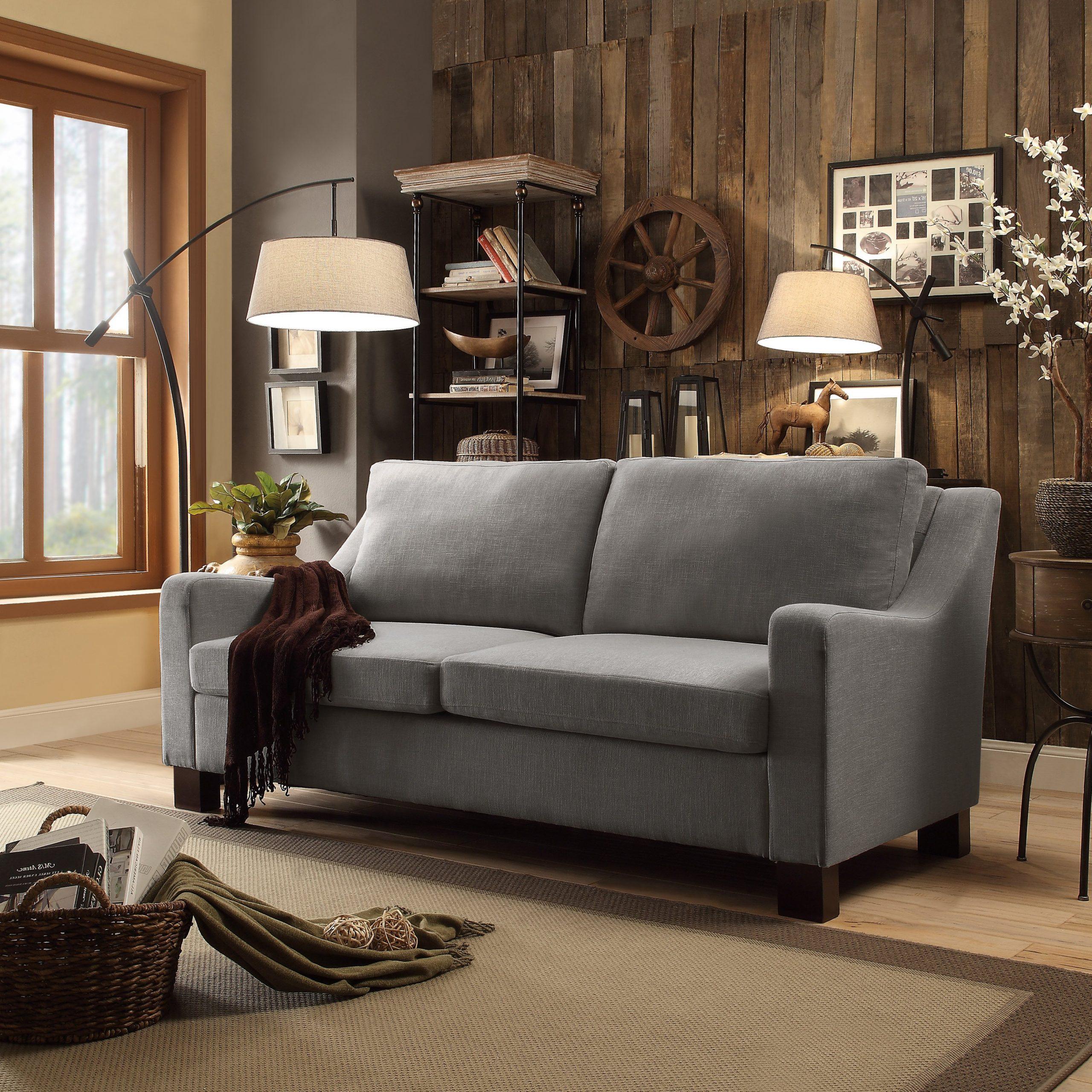 Dg Casa Madison Grey Sofa (Sofa), Gray (View 6 of 15)