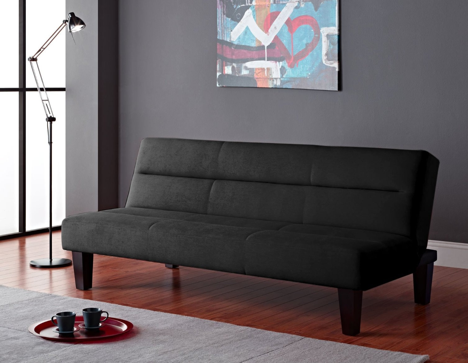 Easton Small Space Sectional Futon Sofas Intended For Fashionable Enhance Your Small Space Value With The Incredible Futon (View 19 of 25)