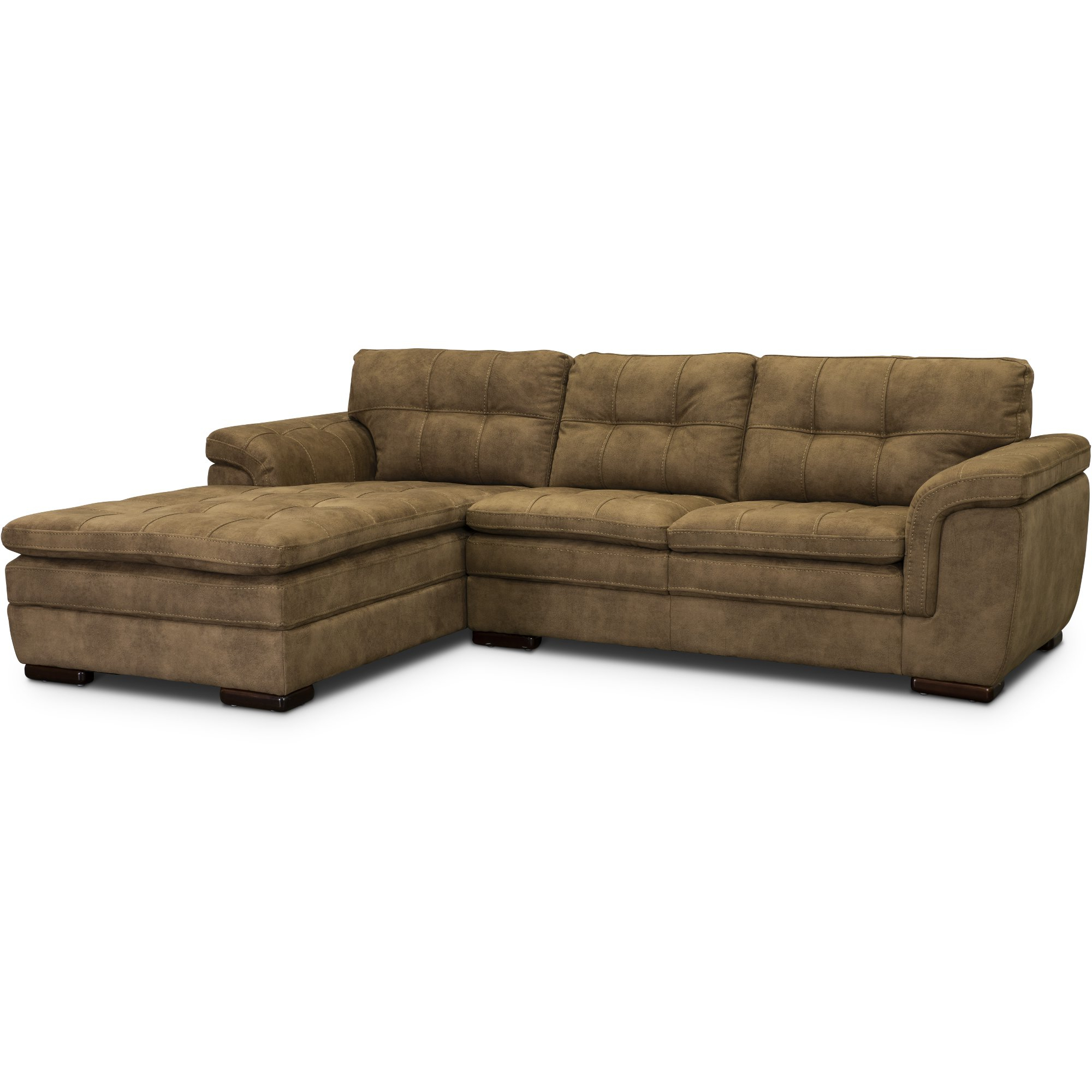 Famous 2 Piece Sectional Sofa Chaise – Latest Sofa Pictures Pertaining To 2Pc Maddox Left Arm Facing Sectional Sofas With Chaise Brown (View 12 of 25)