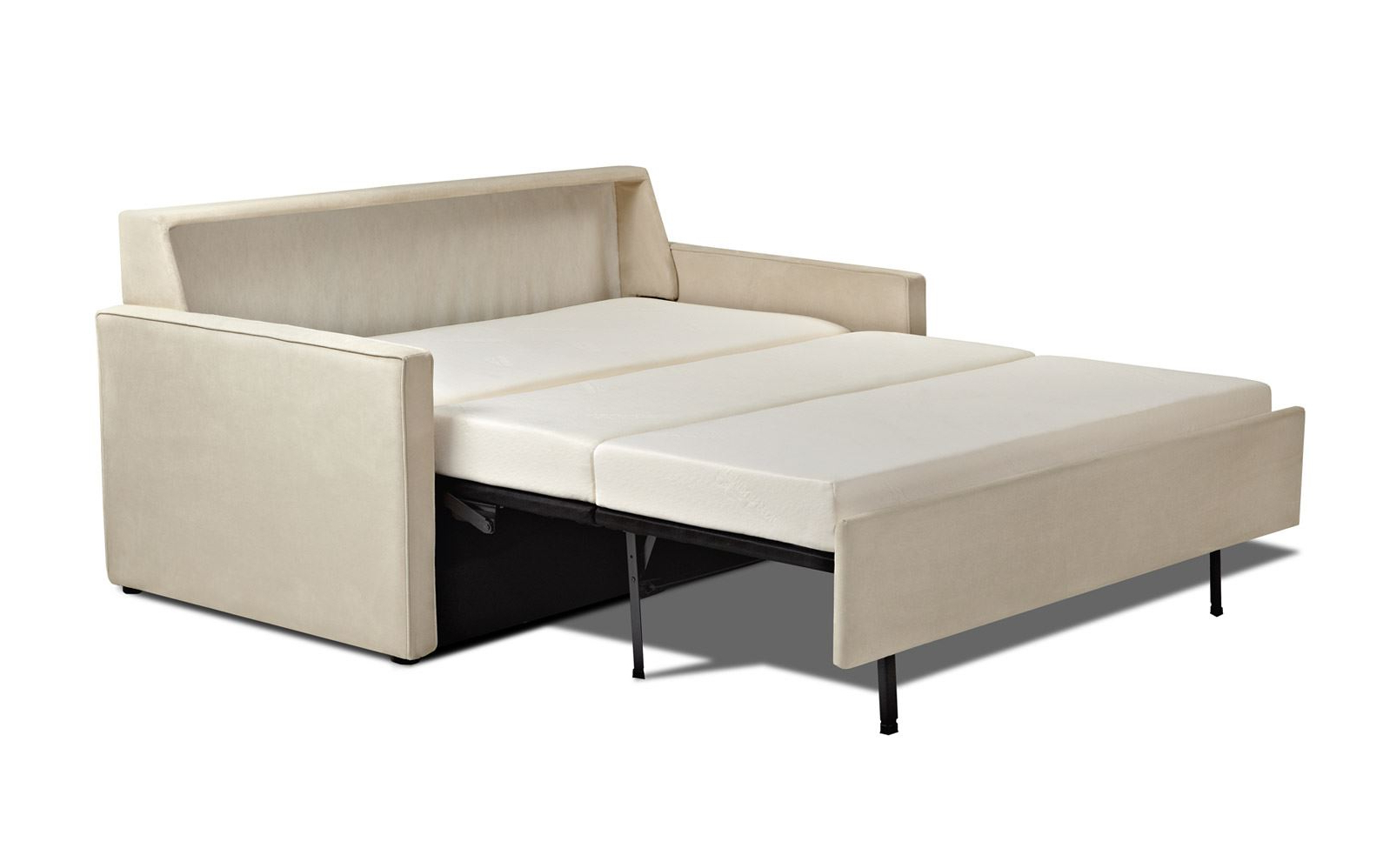 Famous Posh Tempurpedic Sofa Bed Design For Fashionable Within Felton Modern Style Pullout Sleeper Sofas Black (View 12 of 25)