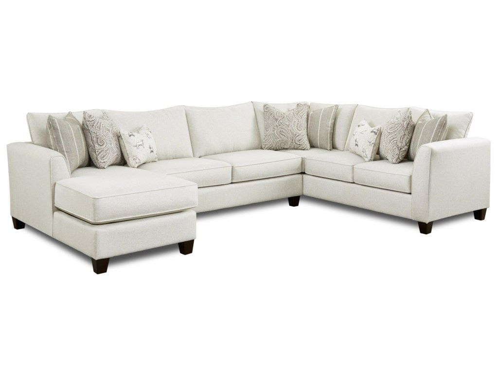 Fashionable 28 3 Piece Sectional With Right Chaisefusion Furniture Intended For Copenhagen Reclining Sectional Sofas With Right Storage Chaise (View 18 of 25)
