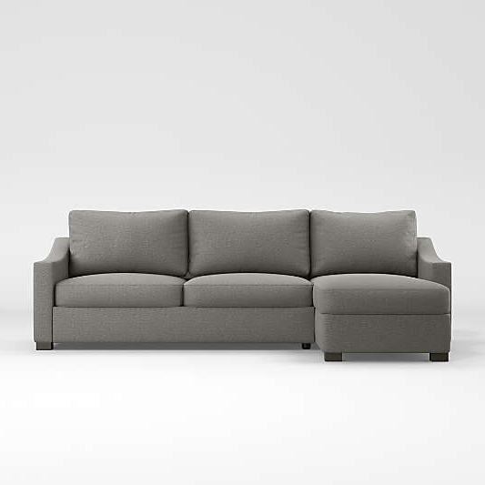 Fashionable 2Pc Maddox Right Arm Facing Sectional Sofas With Cuddler Brown Pertaining To Sectional Sofas & Couches – Living Room Sectionals (View 3 of 18)
