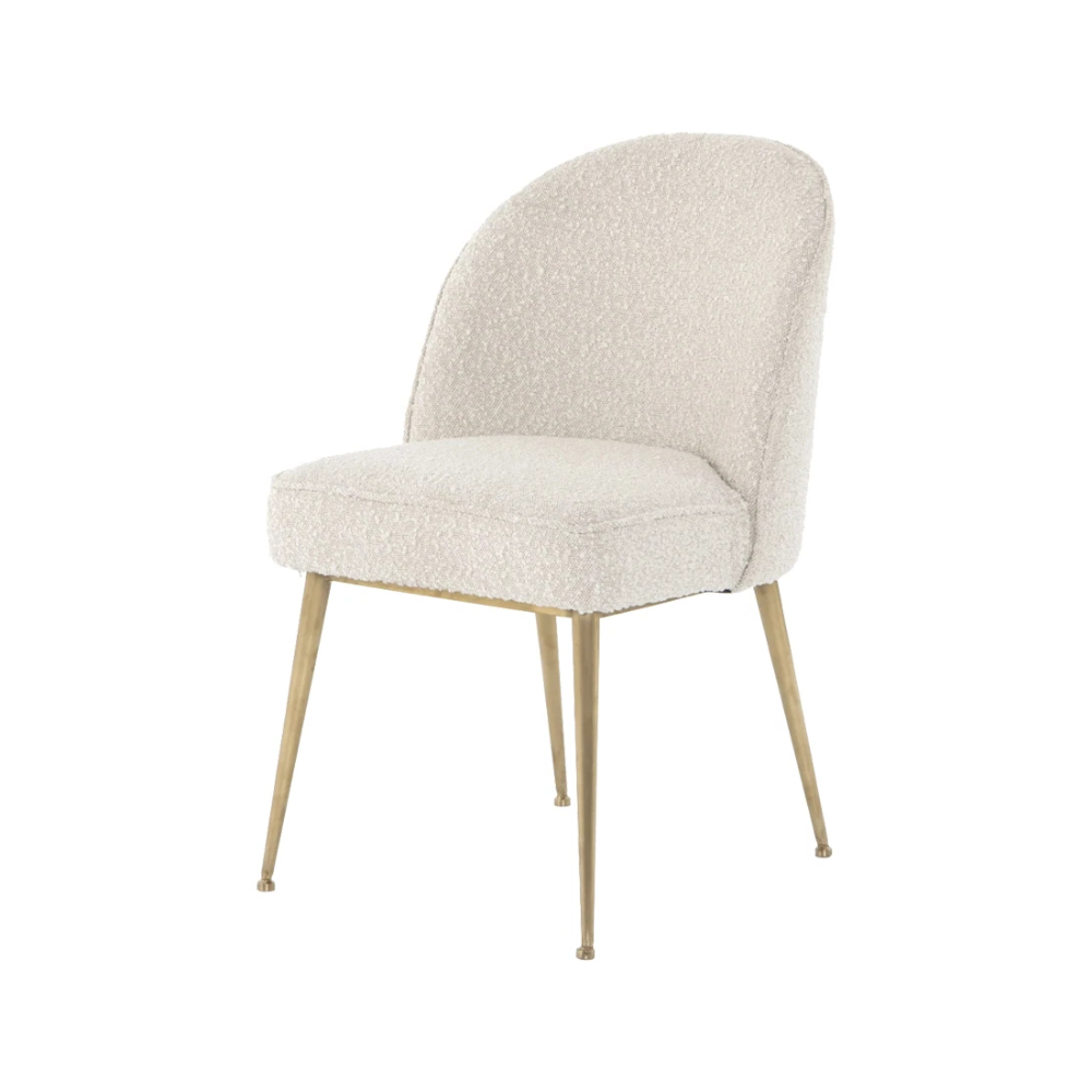 Fashionable Boucle Dining Chair (View 22 of 25)