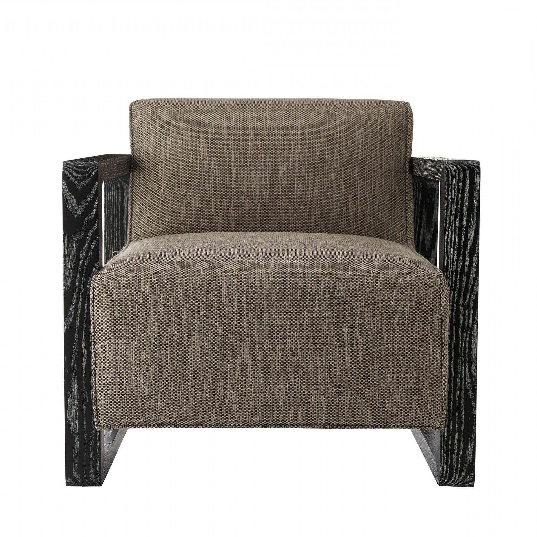 Favorite Duran Chair Pebble Tweed Black Cerused (View 6 of 15)