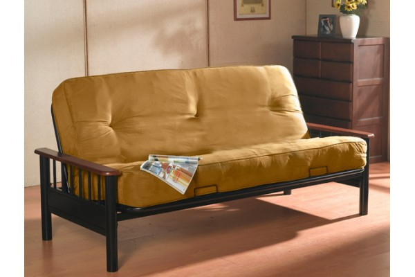 Favorite Dynasty Futon With Orthopedic Pocket Coil Mattress Throughout Debbie Coil Sectional Futon Sofas (View 7 of 25)