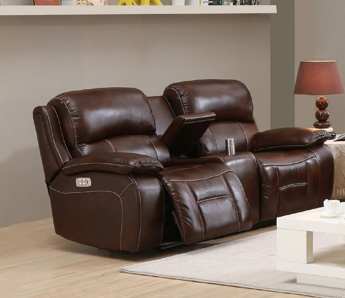 Favorite Nolan Leather Power Reclining Sofas Intended For Westminster Top Grain Leather Power Reclining Loveseat (View 4 of 15)
