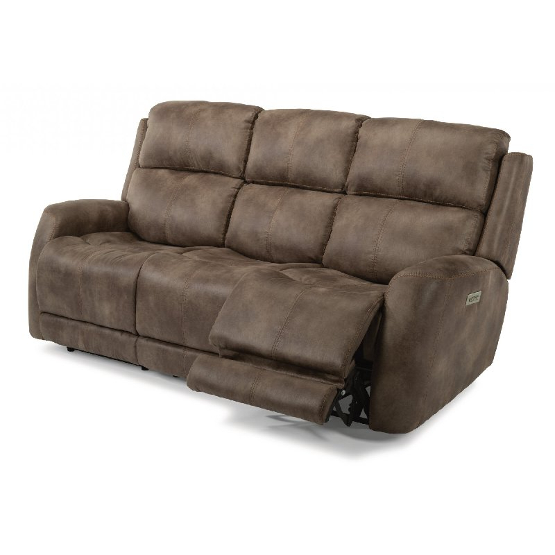Flexsteel 1772 62Ph Zelda Fabric Power Reclining Sofa With In Most Current Charleston Power Reclining Sofas (View 10 of 15)