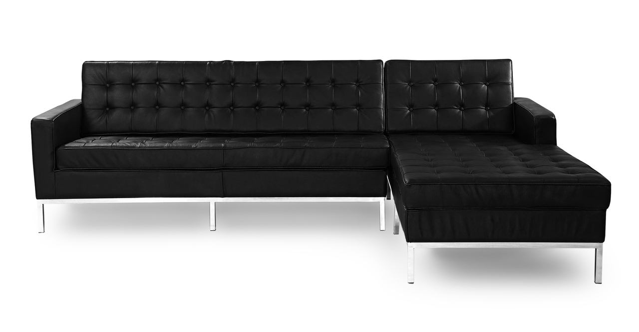 [%Florence Knoll Style Sofa Sectional Left, Black 100% Inside Trendy Florence Mid Century Modern Velvet Left Sectional Sofas Florence Mid Century Modern Velvet Left Sectional Sofas For Popular Florence Knoll Style Sofa Sectional Left, Black 100% Preferred Florence Mid Century Modern Velvet Left Sectional Sofas With Florence Knoll Style Sofa Sectional Left, Black 100% Current Florence Knoll Style Sofa Sectional Left, Black 100% Within Florence Mid Century Modern Velvet Left Sectional Sofas%] (View 7 of 25)
