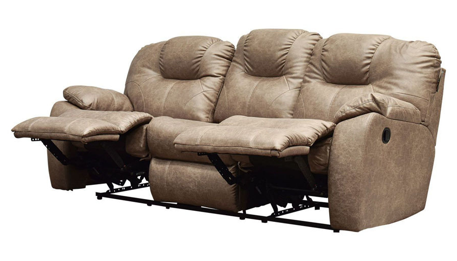 Forte Gray Power Reclining Sofas For Favorite Reclining Sofas – Home Zone Furniture – Furniture Stores (View 2 of 15)