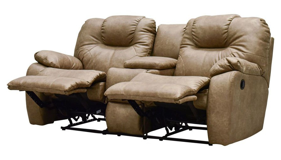 Forte Gray Power Reclining Sofas For Newest Reclining Loveseats – Living Room (View 13 of 15)