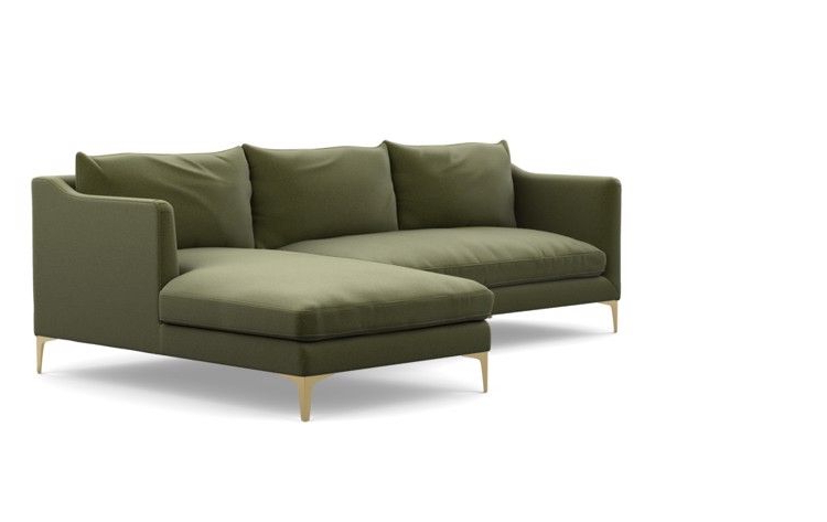"""Frame 29 Of """"Caitlin Chaise Sectional R"""" (View 5 of 25)"""