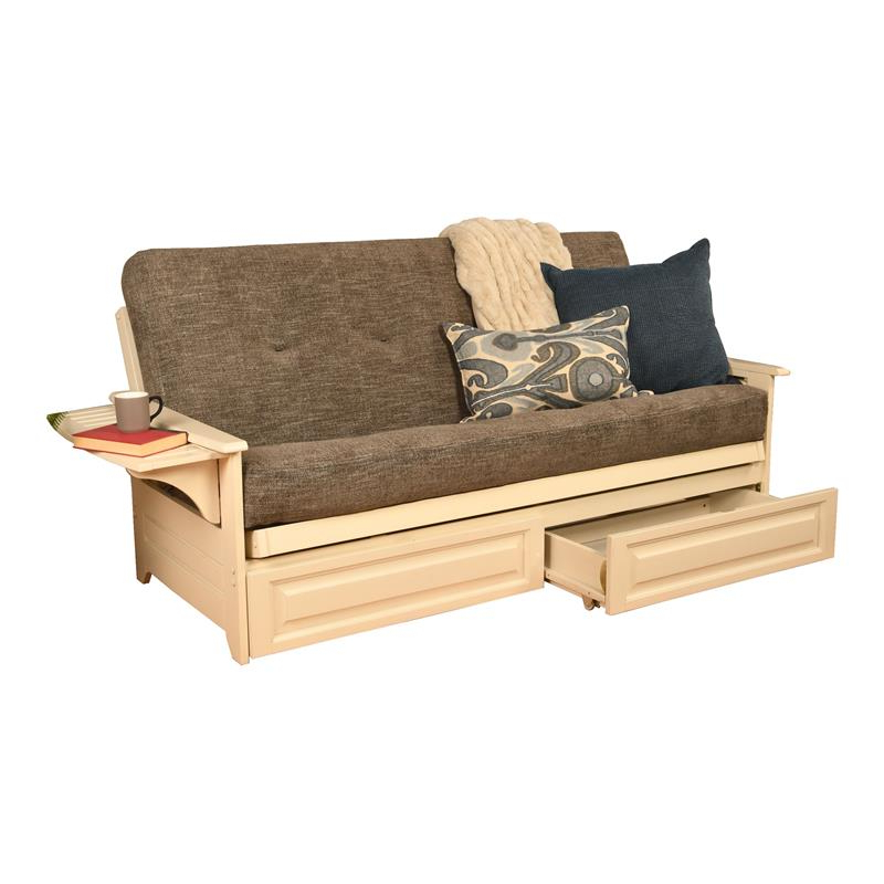 Futons: Shop Futon Beds For Sale Online At Clearance Prices Pertaining To Most Recently Released Celine Sectional Futon Sofas With Storage Camel Faux Leather (View 4 of 25)