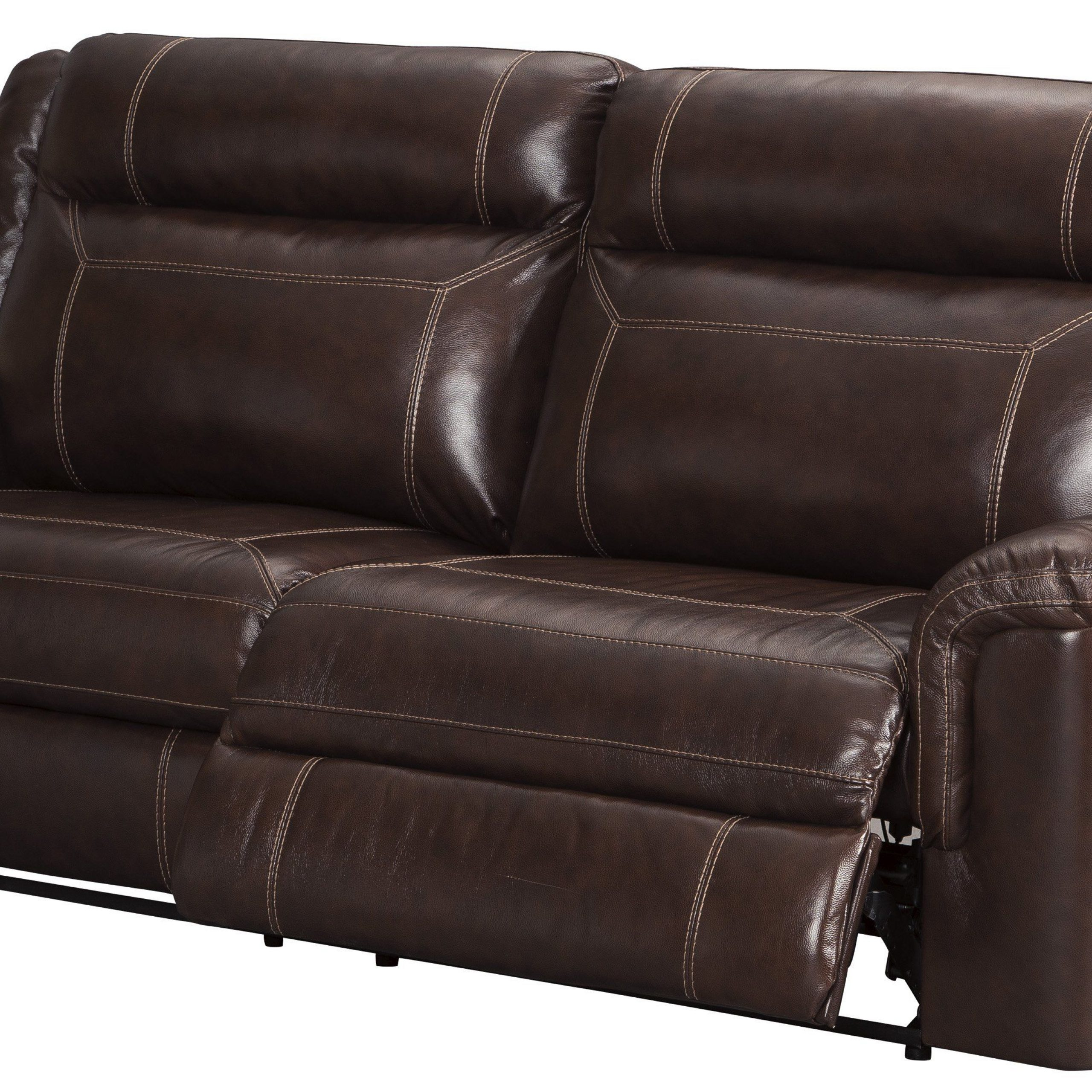 Genuine Leather Reclining Sofa And Loveseat With Well Liked Marco Leather Power Reclining Sofas (View 4 of 15)