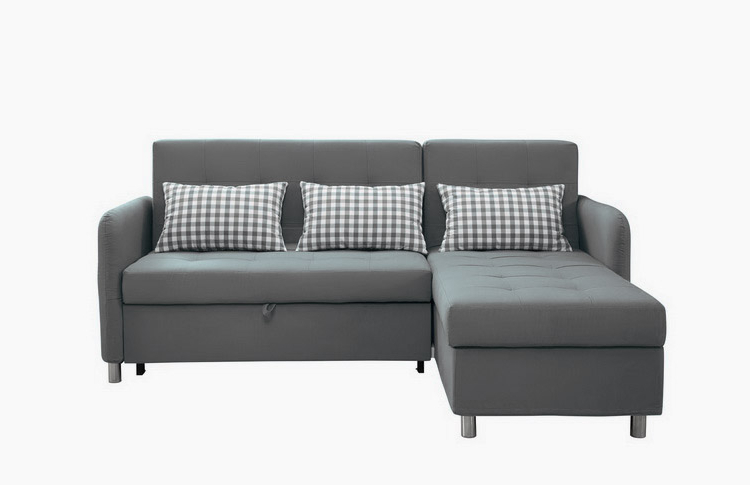 Good Quality Sectional Corner L Shape Sofa Cum Bed With Throughout Trendy Prato Storage Sectional Futon Sofas (View 15 of 25)