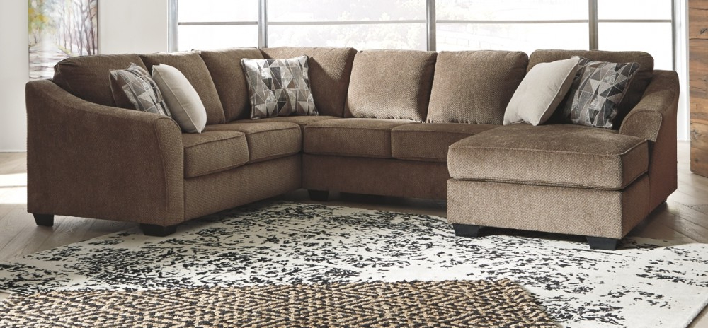 Graftin – 3 Piece Sectional With Chaise (View 16 of 25)
