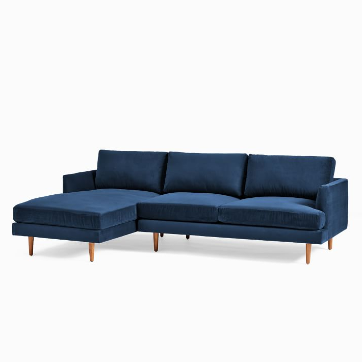 Haven Loft 2 Piece Chaise Sectional In  (View 14 of 25)