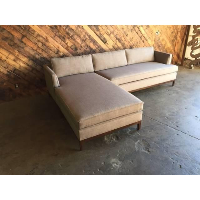 Image Of Mid Century Style Custom Reversible Sectional For Widely Used Verona Mid Century Reversible Sectional Sofas (View 7 of 25)