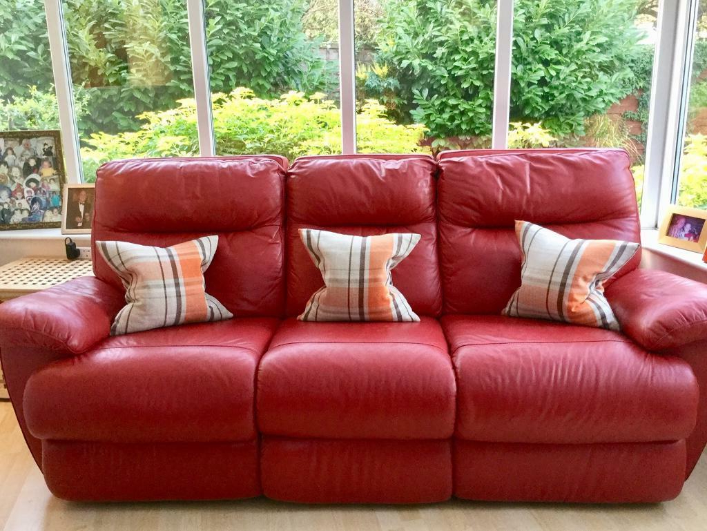In Watford Intended For Popular Red Sofas (View 6 of 15)