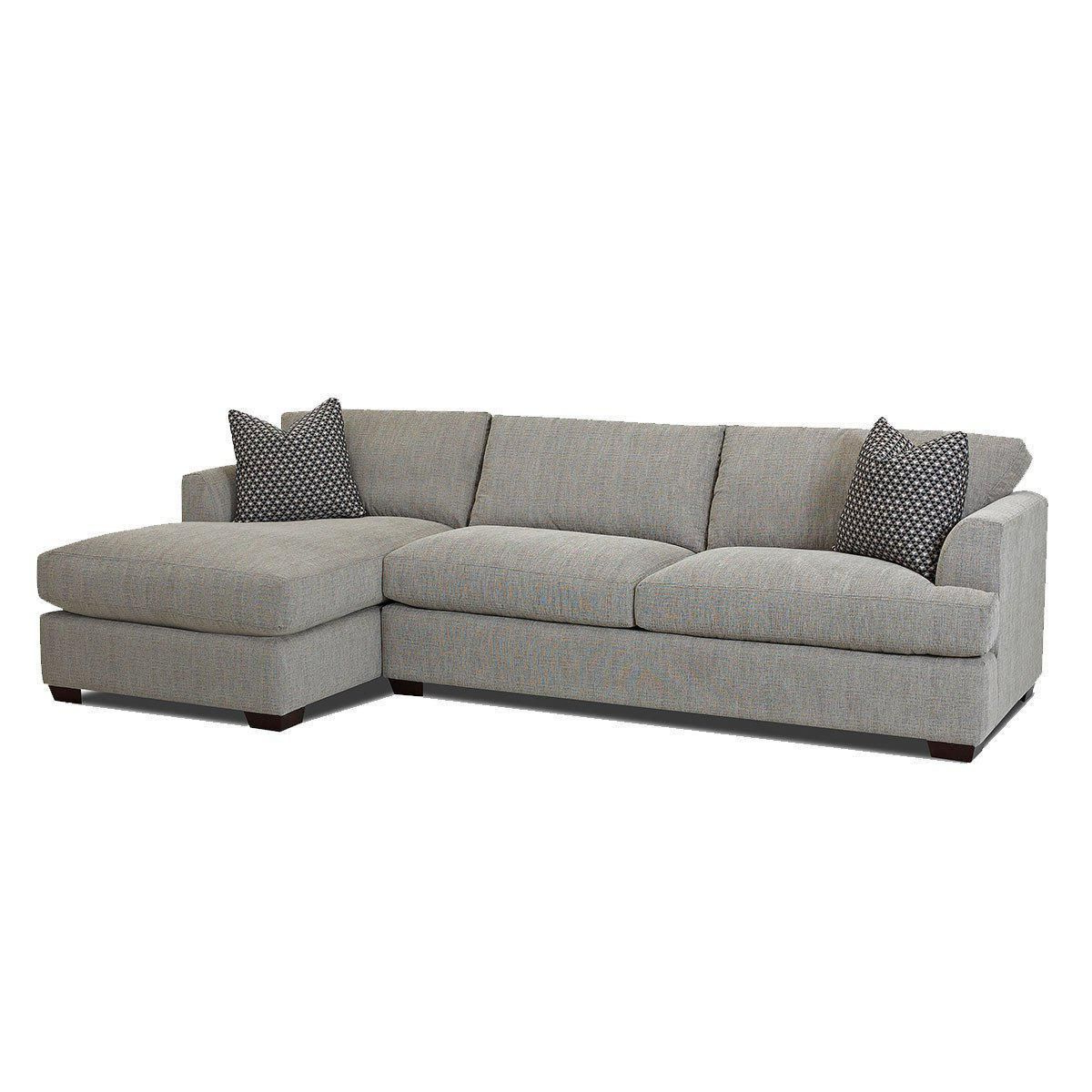 Jennifer Furniture'S Bentley 2 Piece Sectional Comes In Inside Most Up To Date 2Pc Maddox Left Arm Facing Sectional Sofas With Chaise Brown (View 14 of 25)