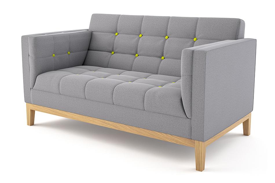 Jig Sofa Two Seater — Cobus Spaces Regarding Trendy Symmetry Fabric Power Reclining Sofas (View 2 of 15)