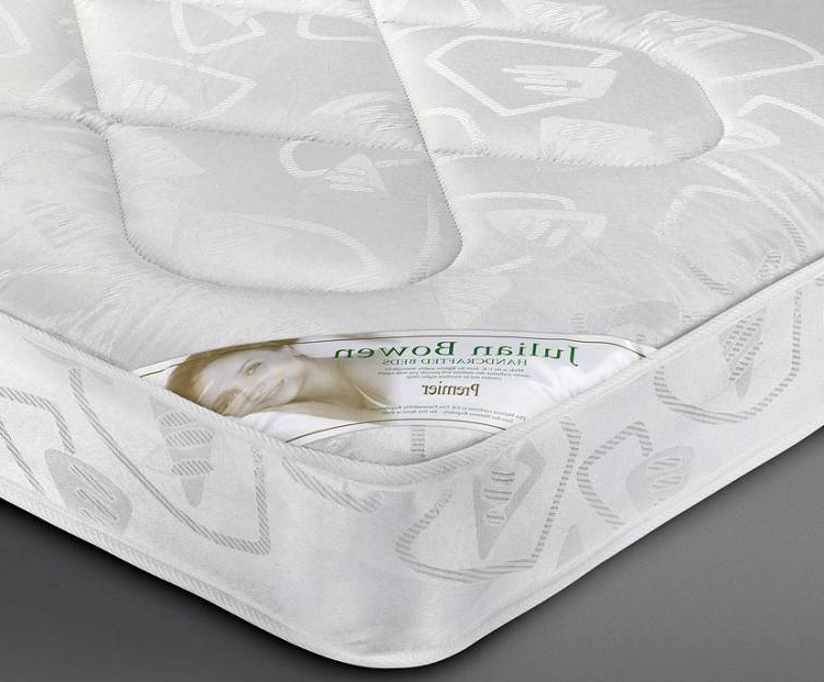 Julian Bowen – Premier Coil Sprung Bed Mattresses – Single Intended For Current Debbie Coil Sectional Futon Sofas (View 20 of 25)