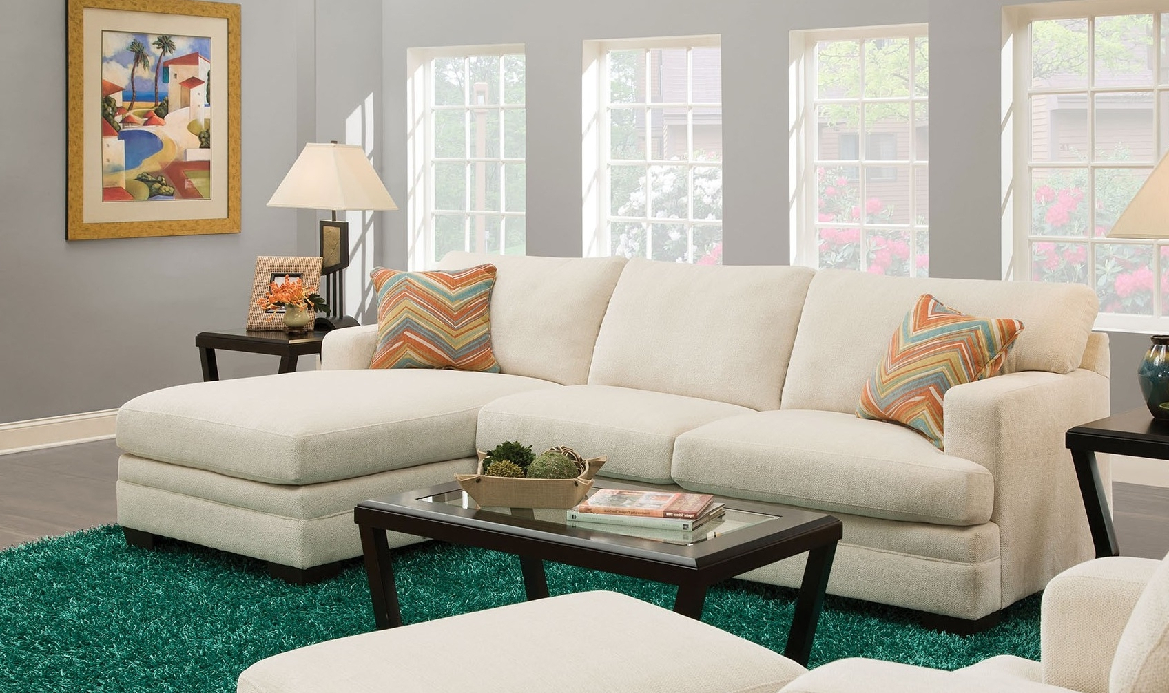 Kiefer Right Facing Sectional Sofas Pertaining To 2017 Norell 52315 106 Sectional Sofa With Left Arm Facing Sofa (View 17 of 25)