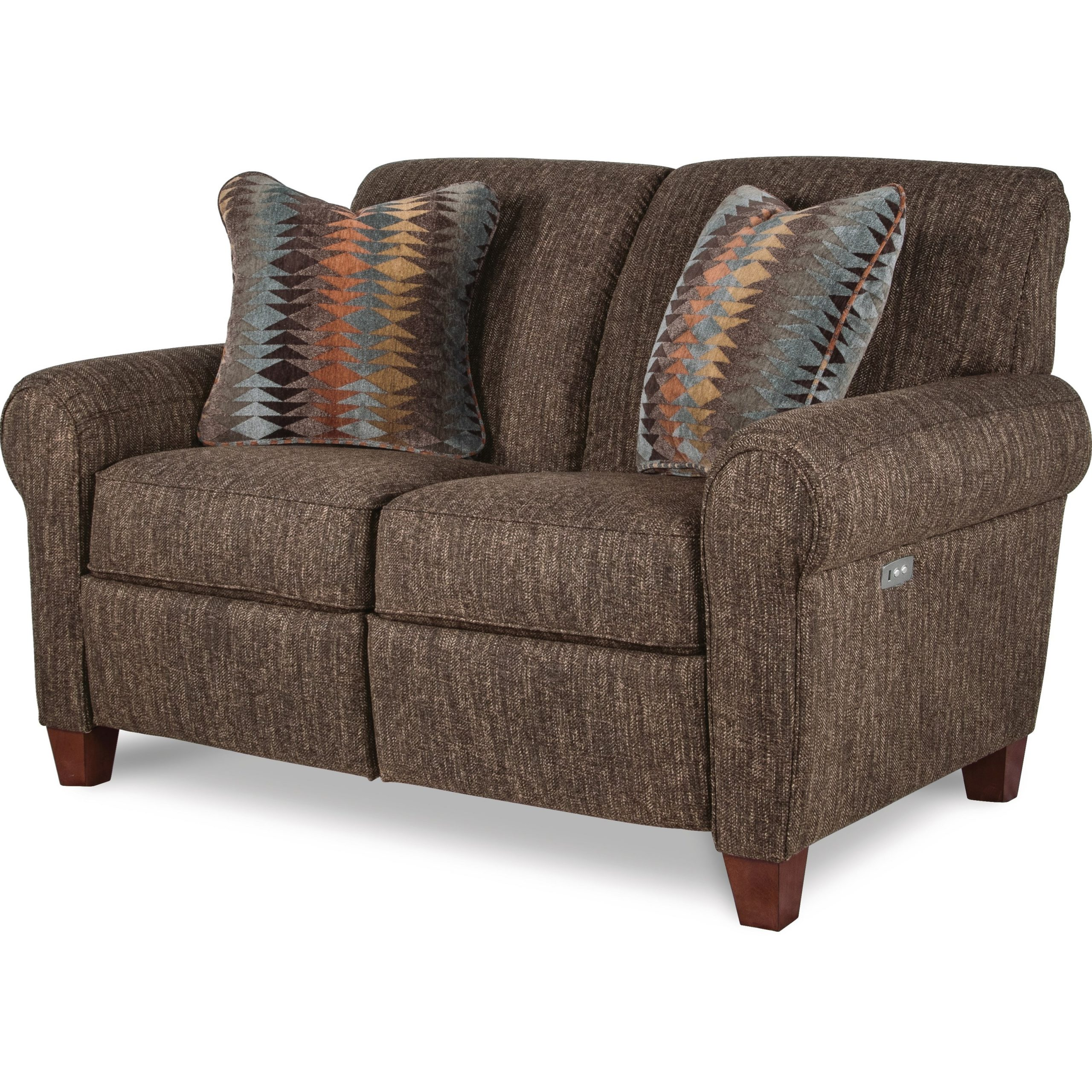 La Z Boy Bennett Duo™ Power Reclining Loveseat With Usb In Best And Newest Bennett Power Reclining Sofas (View 1 of 15)
