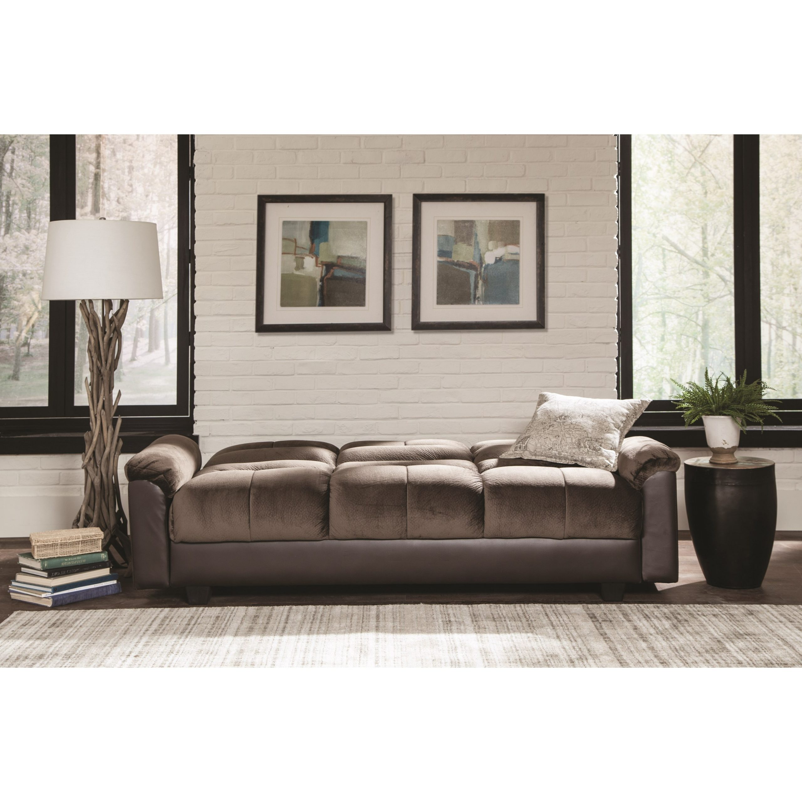 Latest Celine Sectional Futon Sofas With Storage Reclining Couch Inside Sofa Beds And Futons Two Tone Sofa Bed With Storage (View 14 of 25)