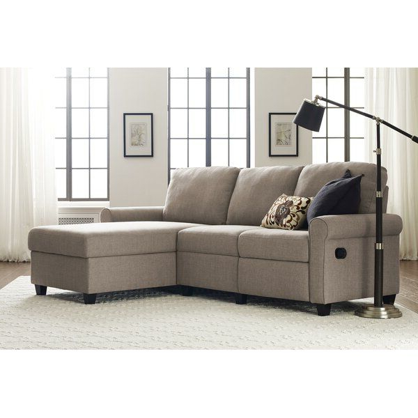 """Latest Copenhagen Reclining Sectional Sofas With Right Storage Chaise For Copenhagen 89"""" Reclining Sectional In  (View 8 of 25)"""