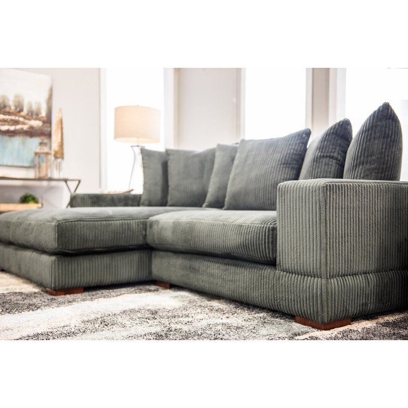 Latest Luxe Right Hand Facing Sectional In 2020 (With Images For Kiefer Right Facing Sectional Sofas (View 18 of 25)