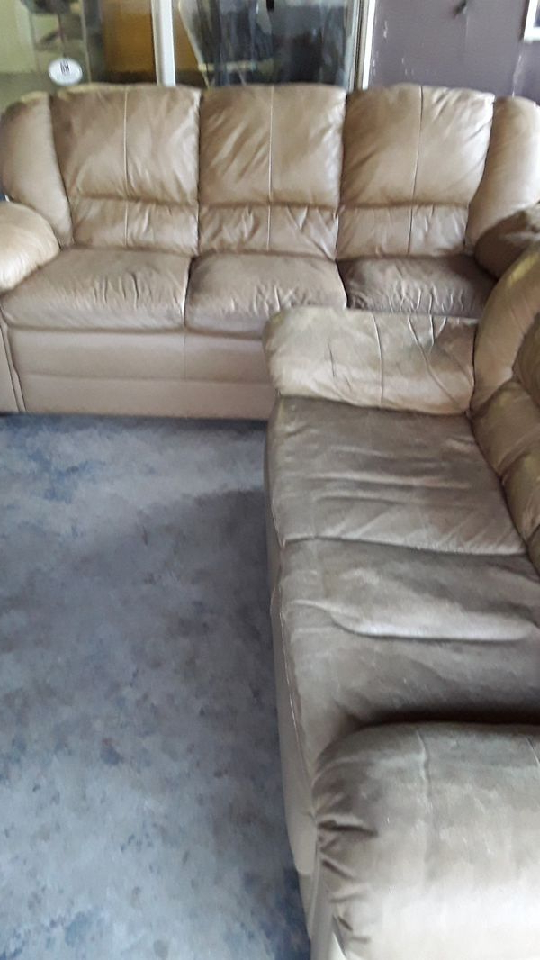 Leather Couch & Love Seat (View 21 of 25)