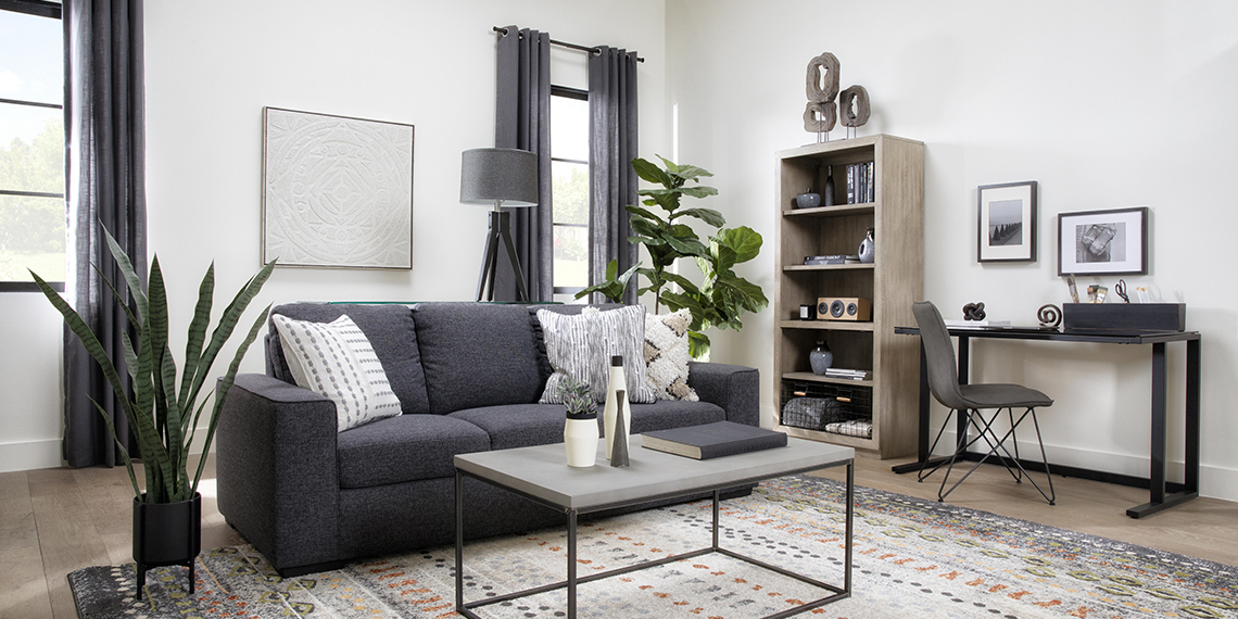 Living Spaces With Regard To Preferred Ludovic Contemporary Sofas Light Gray (View 25 of 25)