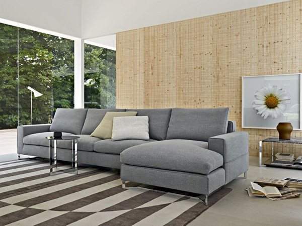 Ludovic Contemporary Sofas Light Gray For Widely Used Light Gray Sofa In Living Room (View 17 of 25)