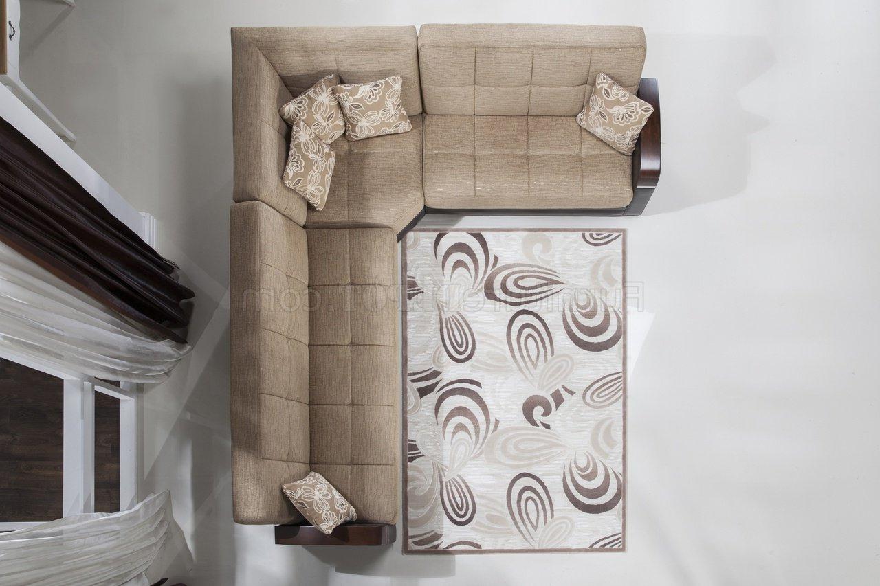 Luna Leather Sectional Sofas Regarding Trendy Luna Fulya L (View 23 of 25)
