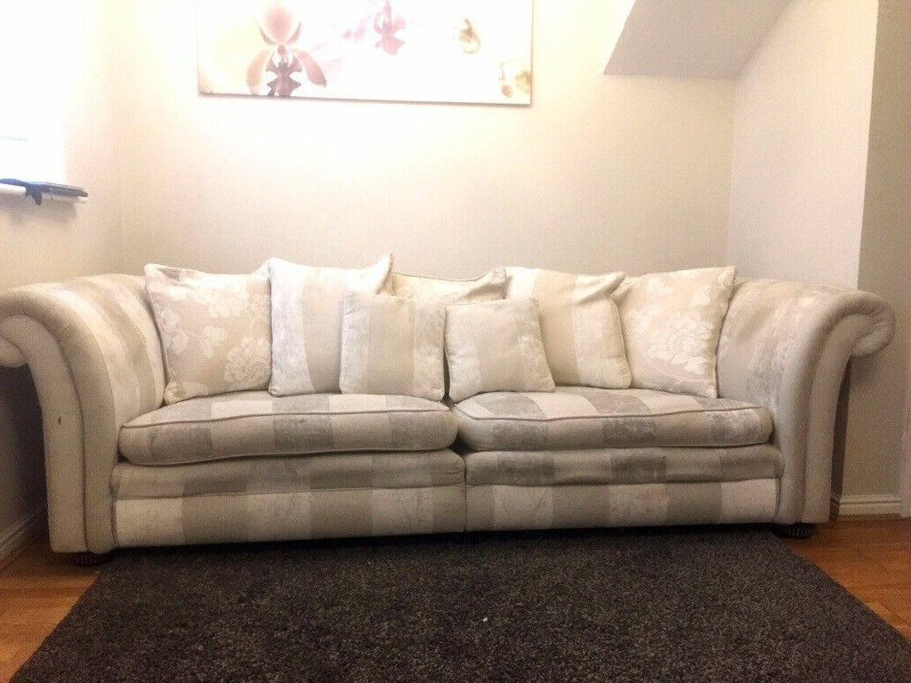 Lyvia Pillowback Sofa Sectional Sofas Intended For 2018 Dfs 4 Seater Pillow Back Sofa (View 1 of 25)