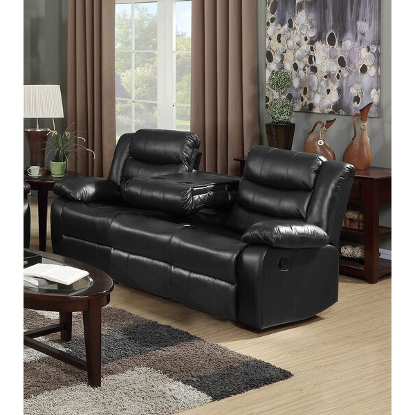 Magnolia Home 38'' Pillow Top Arm Reclining Sofa & Reviews For Latest Magnolia Sectional Sofas With Pillows (View 2 of 25)