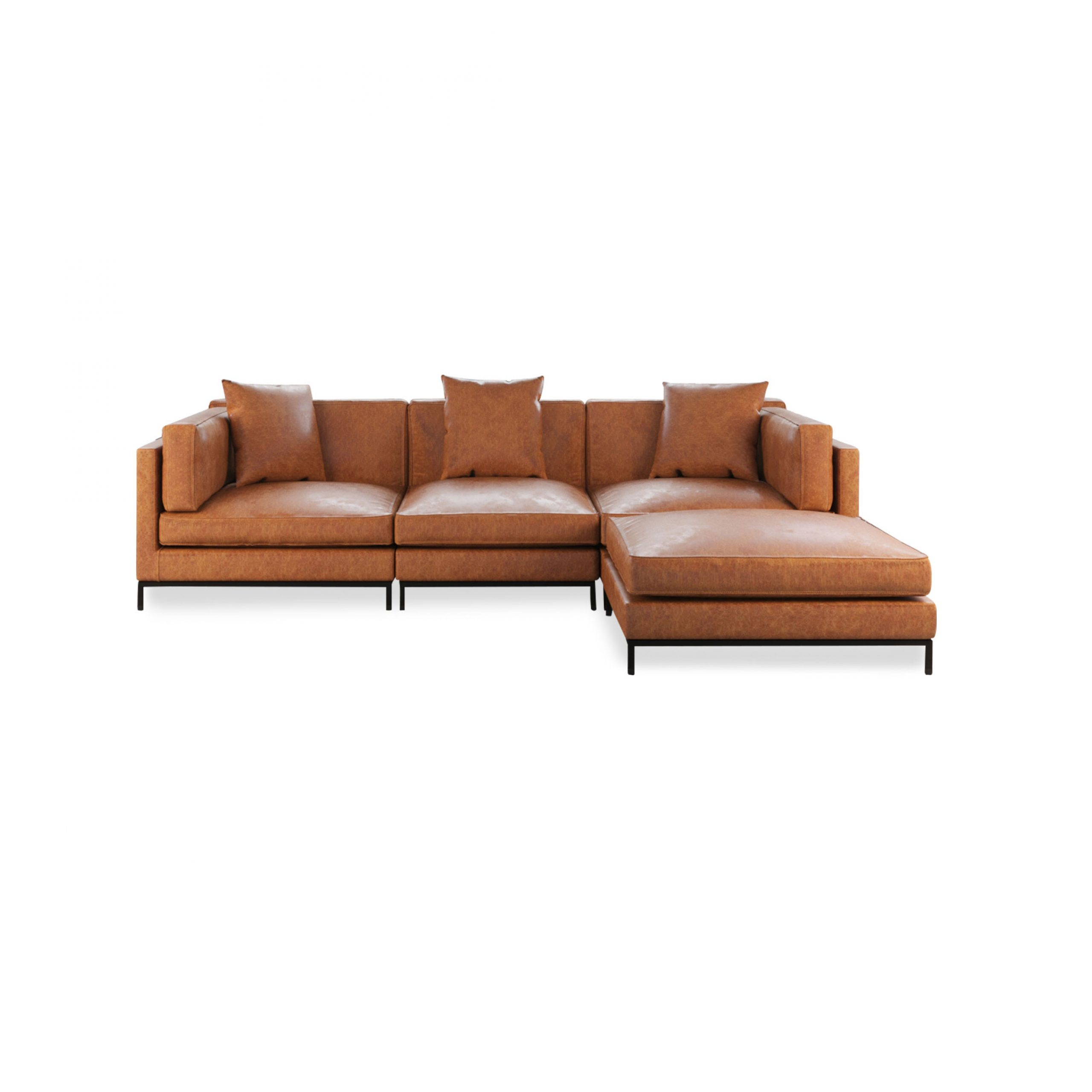 Migliore Sectional – Best Leather Or Fabric Modular Sofa Regarding Most Up To Date Paul Modular Sectional Sofas Blue (View 8 of 25)
