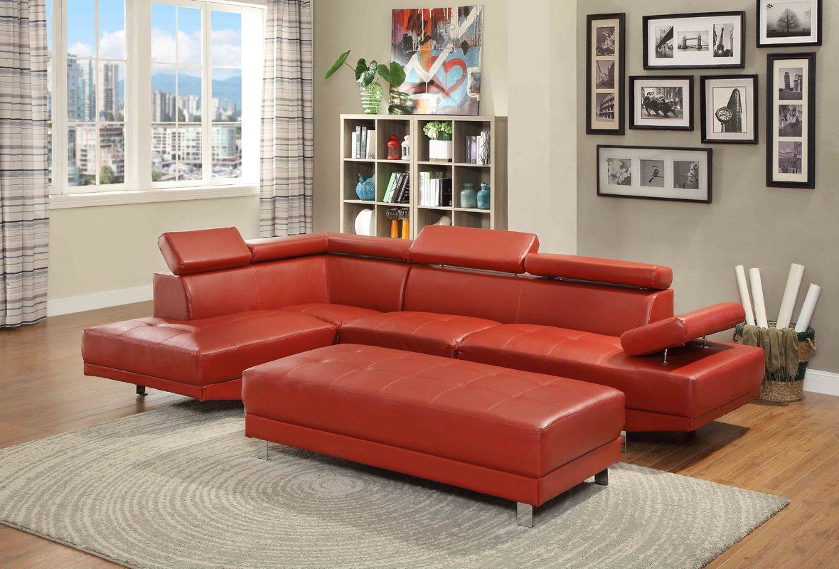 """Monet Right Facing Sectional Sofas Pertaining To Most Up To Date Abhinaya 107"""" Wide Right Hand Facing Sectional (View 17 of 25)"""