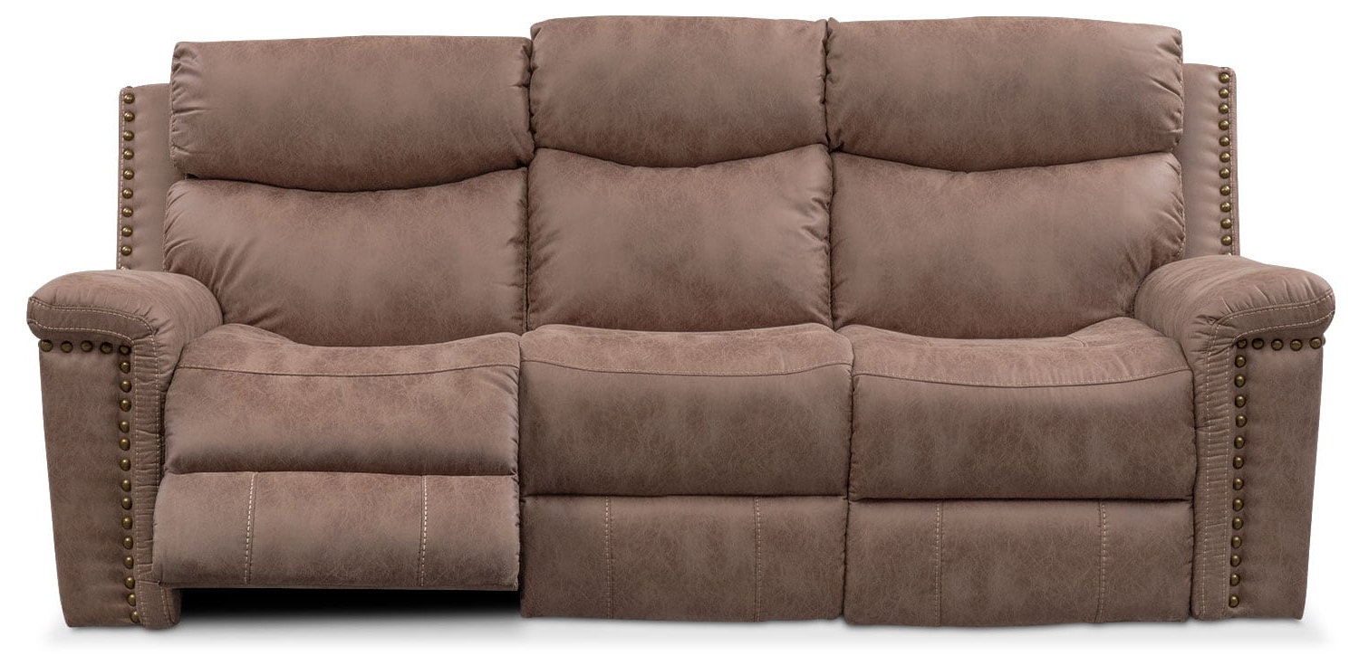 Montana Dual Power Reclining Sofa, Reclining Loveseat And With Most Current Dual Power Reclining Sofas (View 3 of 7)