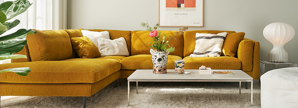 Most Current French Seamed Sectional Sofas Oblong Mustard With Freud Sofaadventures In Furniture (View 9 of 25)