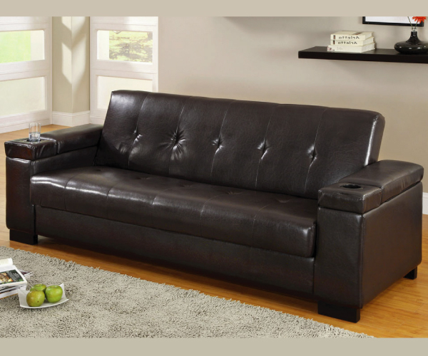 Most Current Logan Adjustable Sofa Bed Futon With Storage With Regard To Liberty Sectional Futon Sofas With Storage (View 6 of 25)