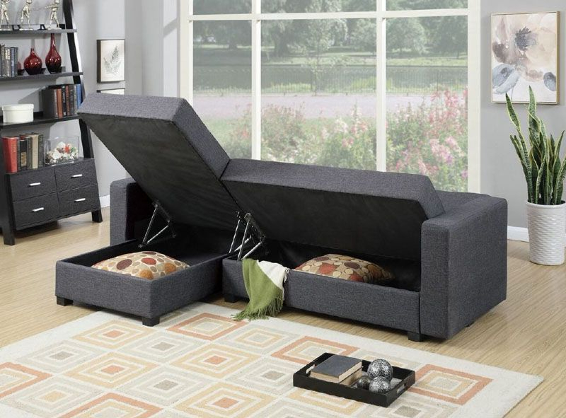 Most Current Palisades Reversible Small Space Sectional Sofas With Storage Intended For 10 Small Living Decor Room Ideas To Use In Your Home (View 18 of 25)
