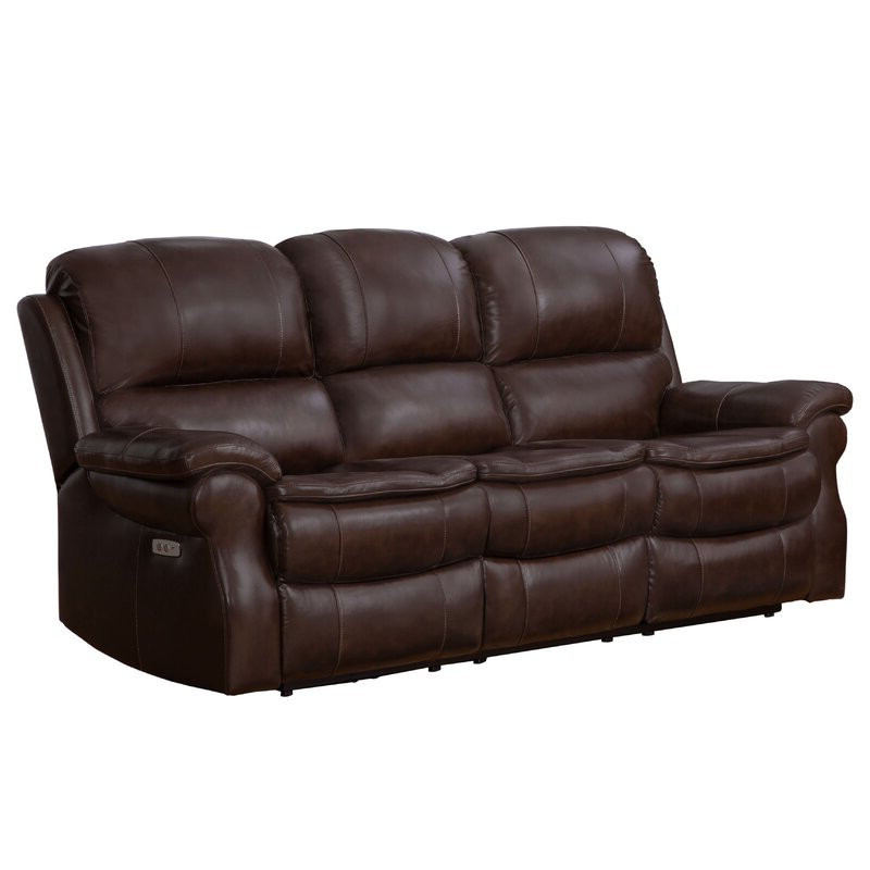 Most Current Winston Sofa Sectional Sofas With Winston Porter Ozell Leather Reclining 87 Inches Pillow (View 17 of 25)