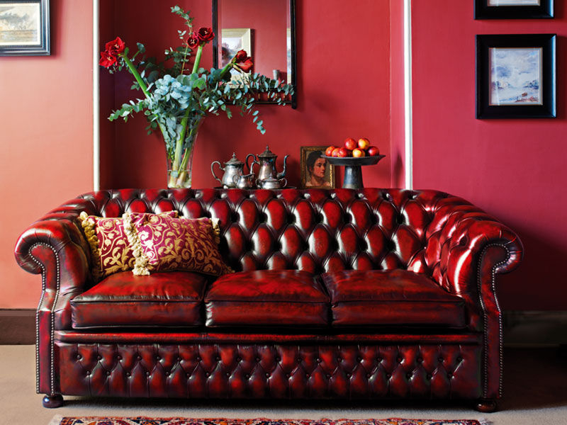 Most Popular Cromwell Modular Sectional Sofas Intended For Chesterfield Sofa – Graham – Fleming & Howland – Leather (View 11 of 25)
