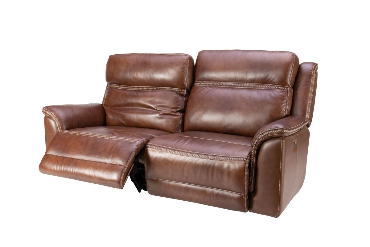 Most Popular Fargo Leather Power Reclining Sofa At Gardner White For Nolan Leather Power Reclining Sofas (View 13 of 15)