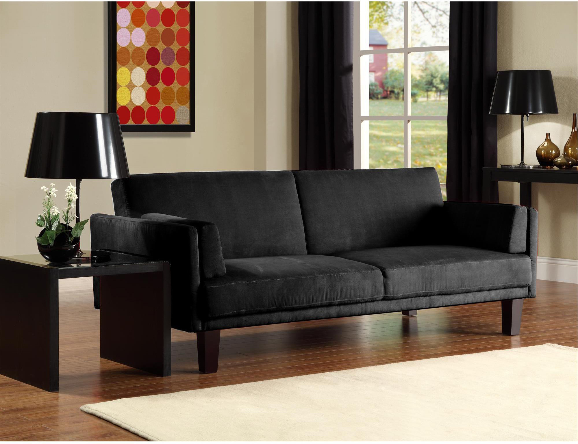 Most Recent 12 Affordable (And Chic) Small Sleeper Sofas For Tight Spaces Intended For Easton Small Space Sectional Futon Sofas (View 15 of 25)