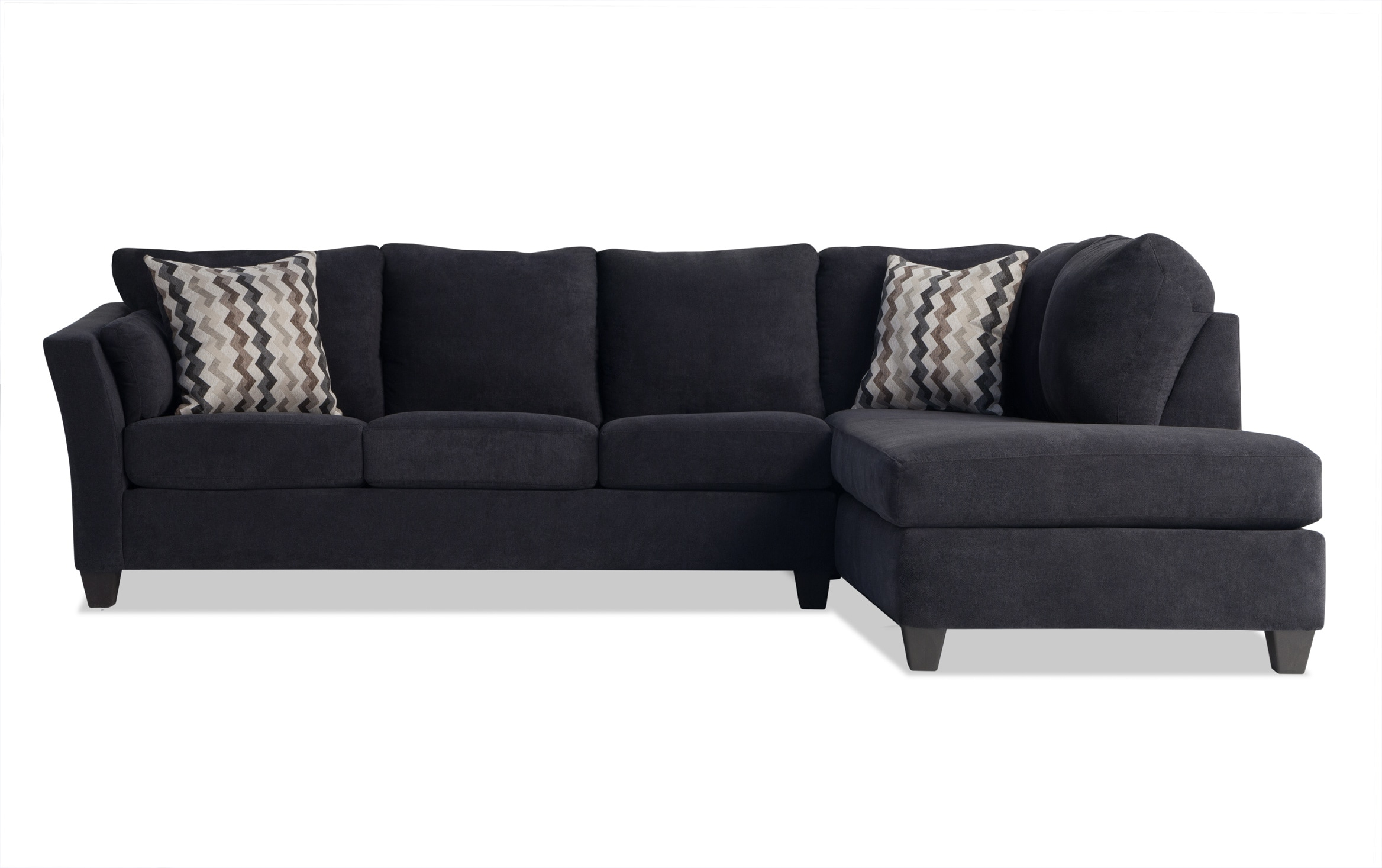 Most Recent 2Pc Maddox Left Arm Facing Sectional Sofas With Chaise Brown In Sectional Sofas Bobs Playscape 2 Piece Sectional Bob S (View 23 of 25)