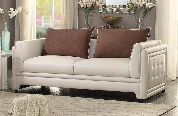 Most Recent Azure Sofa – Sofas – Living Room Throughout Camila Poly Blend Sectional Sofas Off White (View 9 of 25)