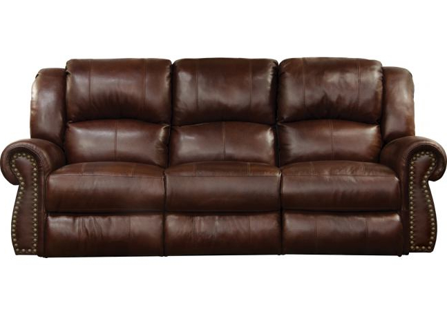Most Recent Catnapper Messina Power Headrest Lay Flat Reclining Sofa Throughout Titan Leather Power Reclining Sofas (View 12 of 15)